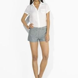 """<a href= """"http://www.ralphlauren.com/product/index.jsp?productId=12814593&cp=2943768.3510411&ab=viewall&view=all&parentPage=family"""">Blue Label White Linen Shirt</a>, was $165 now $51.75"""