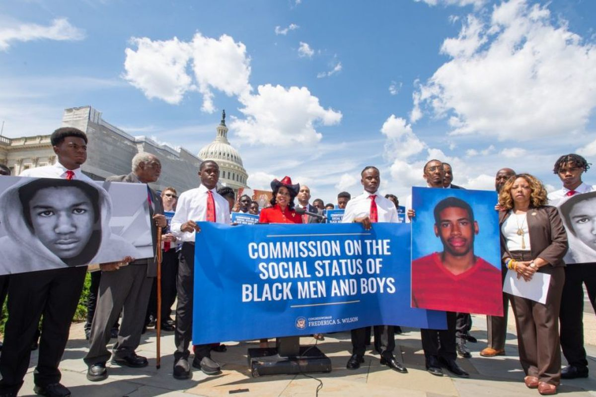 Commission on the Social Status of Black Men and Boys Act