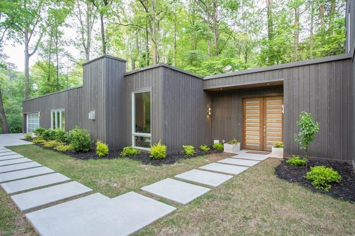 A renovated Buckhead modern in Atlanta.