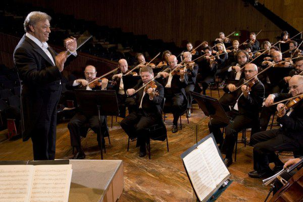 Maestro Zubin Mehta will lead the Israel Philharmonic in a concert at Chicago's Symphony Center on Nov. 15.
