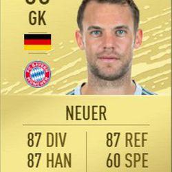 Manuel Neuer in FIFA 2020