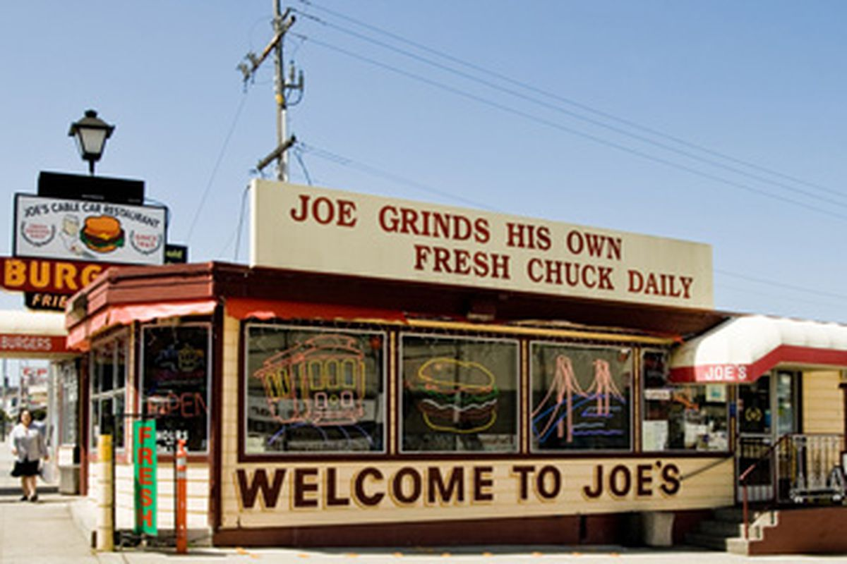 Joe's Cable Car, Mission Street.