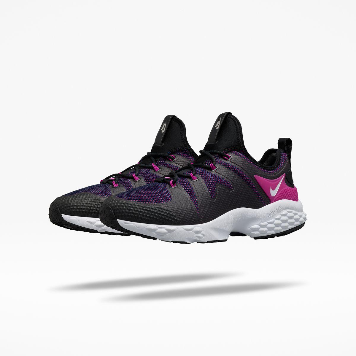 The NikeLab Air Zoom LWP x Kim Jones sneakers in neon pink.