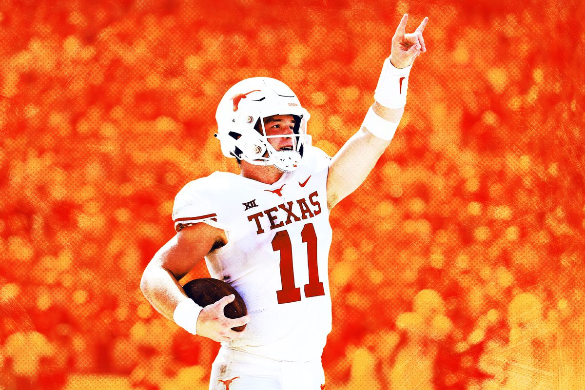 sneakers for cheap 33329 b94b7 Texas Waited a Decade for Sam Ehlinger. Can the QB Push the ...