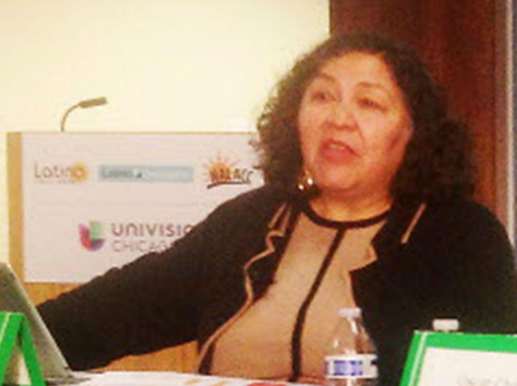Sylvia Puente, executive director, Latino Policy Forum | Stefano Esposito/Sun-Times