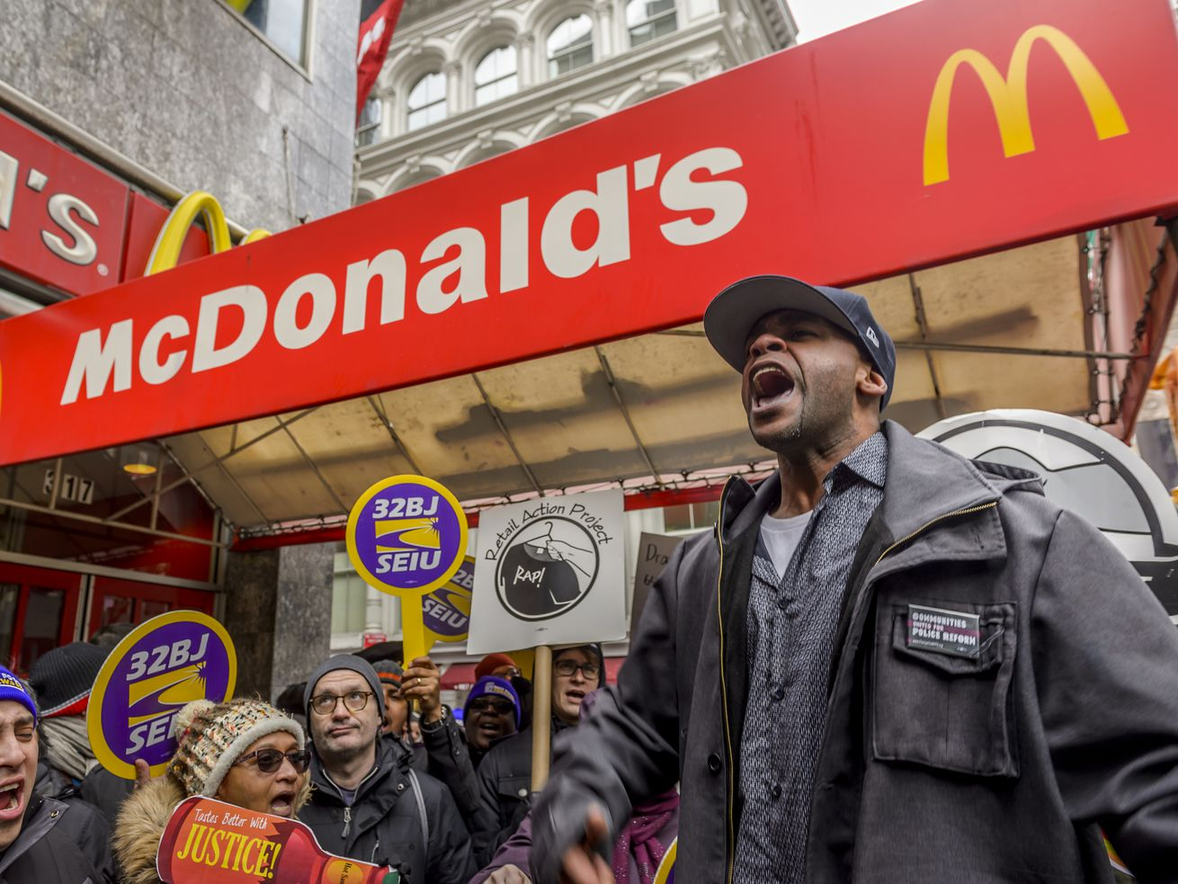 Fast-food workers have been pushing for a $15 minimum wage for years.