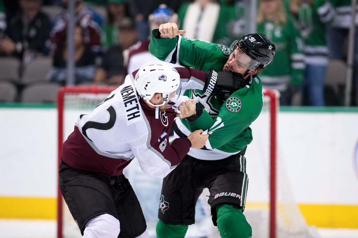 new product 634c0 2a466 Dallas Stars Daily Links: Reliving The Best Hockey Fights of ...