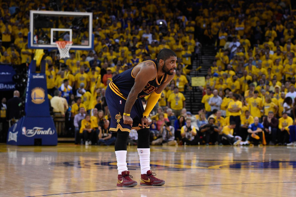 How high should you rank Kyrie Irving this year? He's out until January...