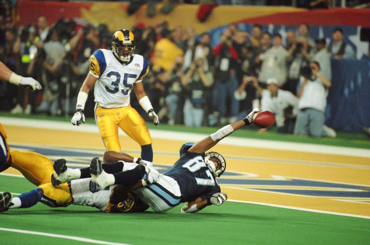 Super Bowl XXXIV - Tennesee Titans vs St. Louis Rams - January 30, 2000