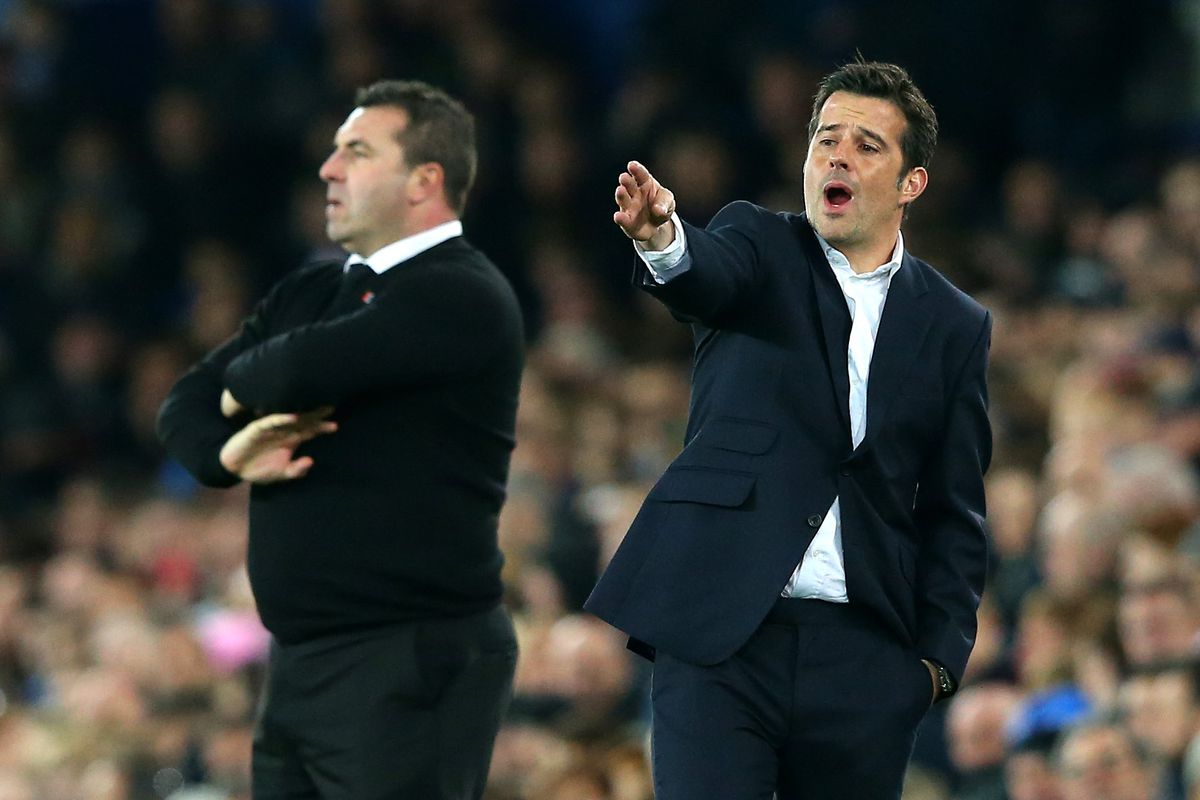 Marco Silva coy over Everton job