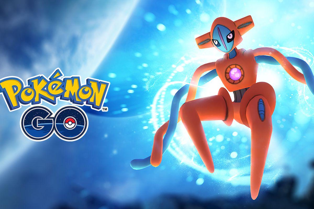 Deoxys in Pokémon Go