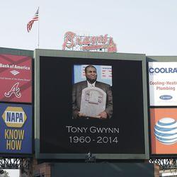 Braves honor Tony Gwynn