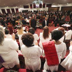 Calvary Baptist Church services in Salt Lake City on Sunday, Dec. 29, 2019.