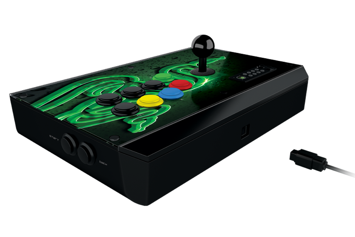 Razer Atrox Arcade Stick for Xbox 360 opening pre-orders May 21
