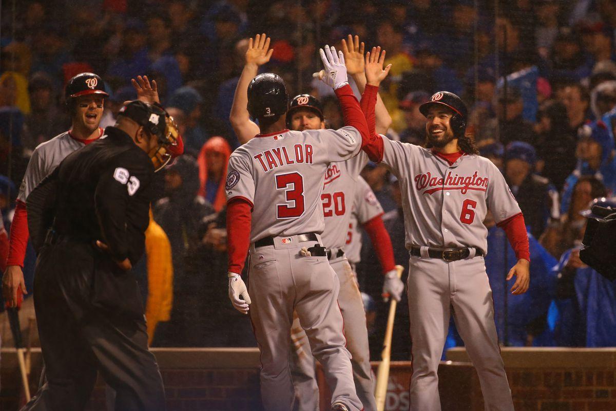 MLB: NLDS-Washington Nationals at Chicago Cubs