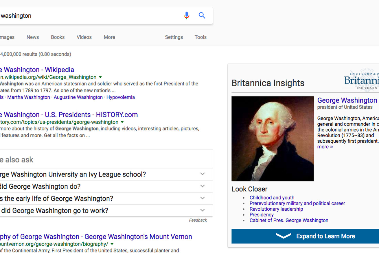 encyclopedia britannica s new chrome extension is a simple fix to google misinformation