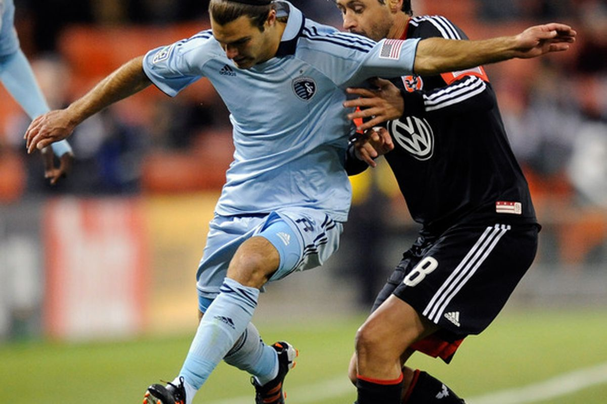 Sporting Kansas City won the midfield battle during First Kick 2012 at RFK Stadium. They did this by executing their game plan to get the ball to Graham Zusi and keep United from running their play through Branko Boskovic and Perry Kitchen.