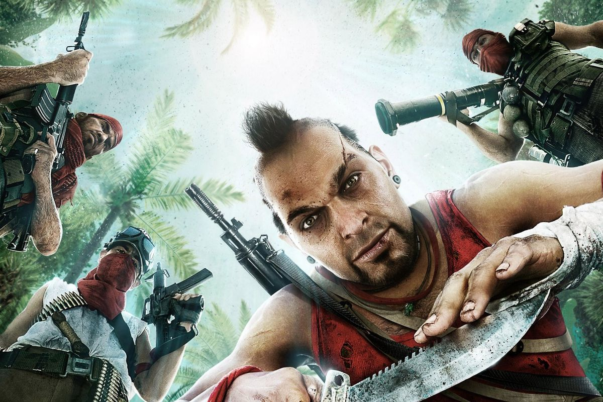 The Transformation Of Far Cry 3 S Villain Vaas Polygon