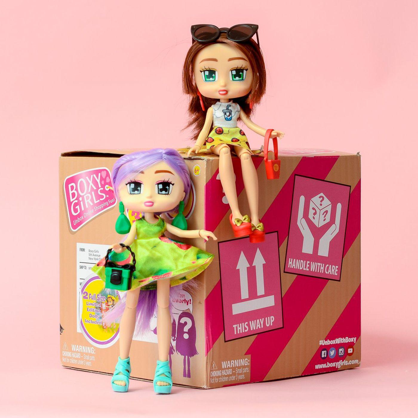 Meet Boxy Girls, the dolls that shop online - Vox