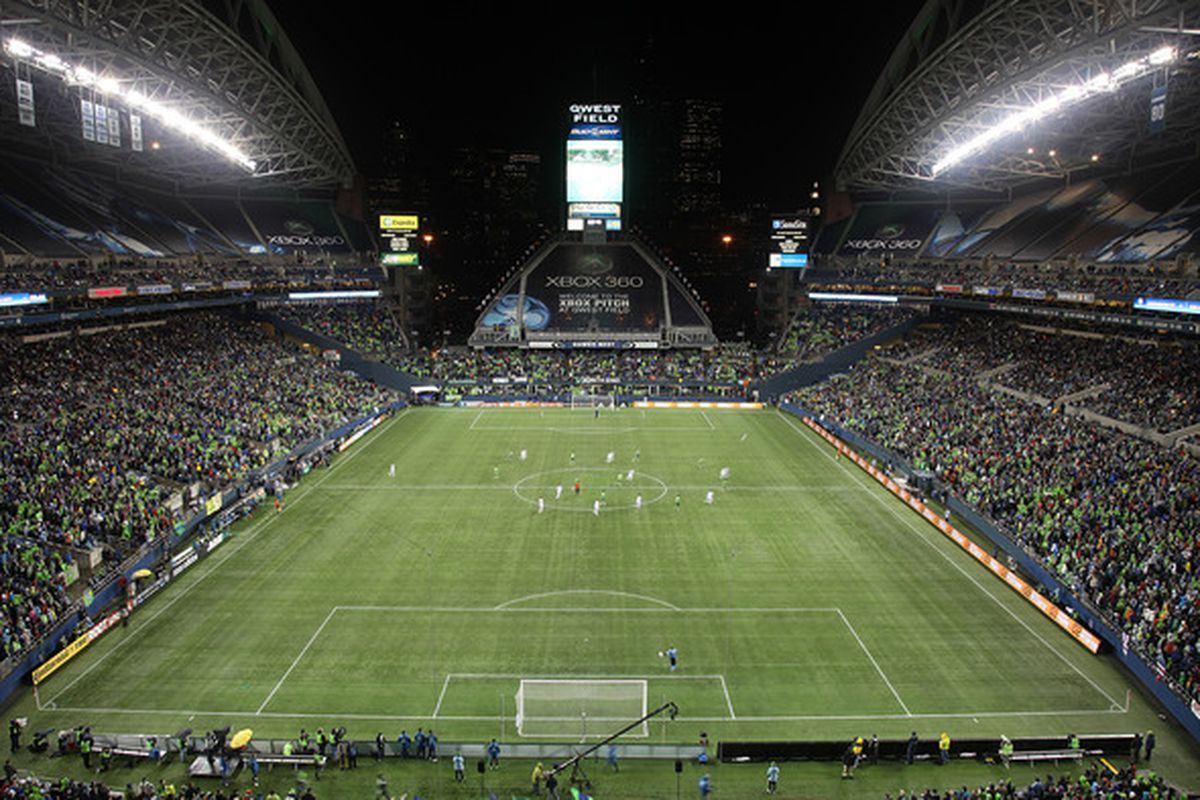 The Seattle Sounders have said they 'won't turn anyone away' for the Oct. 4 U.S. Open Cup final against the Chicago Fire. (Photo by Otto Greule Jr/Getty Images)