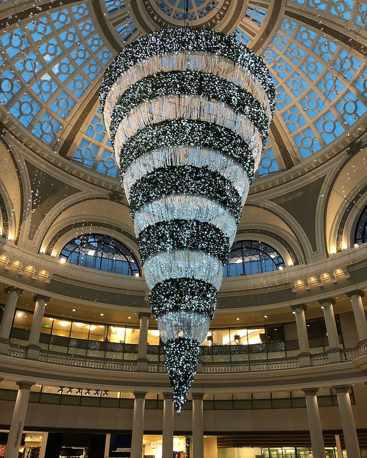 Upside-down Christmas tree returns with imitators and ...