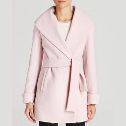 """The next step for the startup is to tap an older demographic by adding more value and more utility to the app's functionalities. [Trina Turk Ali Wrap in Blush Pink, <a href=""""http://www1.bloomingdales.com/shop/product/trina-turk-coat-ali-wrap?ID=1070773"""">$"""