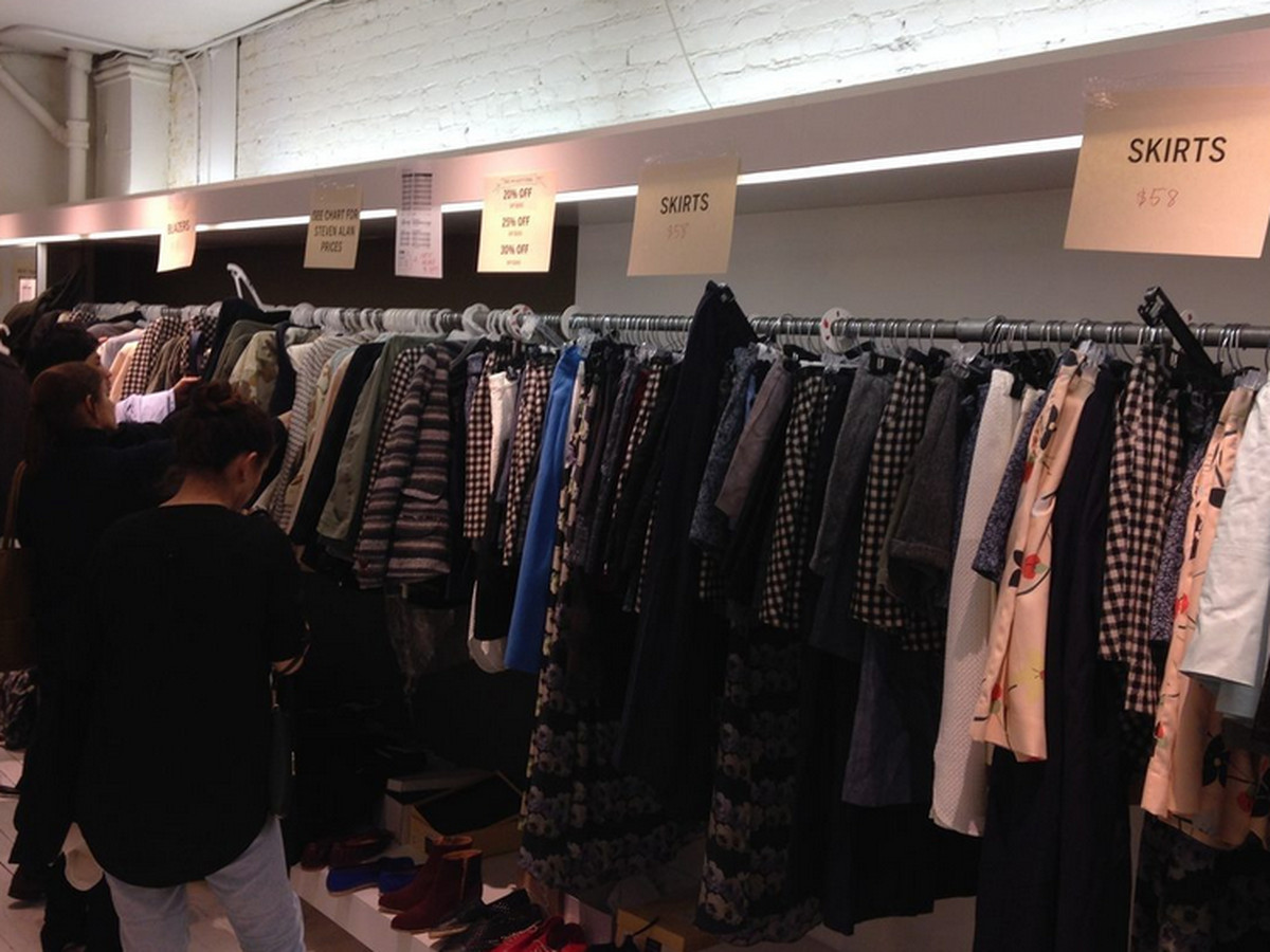 """The Steven Alan <a href=""""http://ny.racked.com/archives/2014/11/13/steven_alan_sample_sale_fall_2014.php"""">sample sale</a>"""