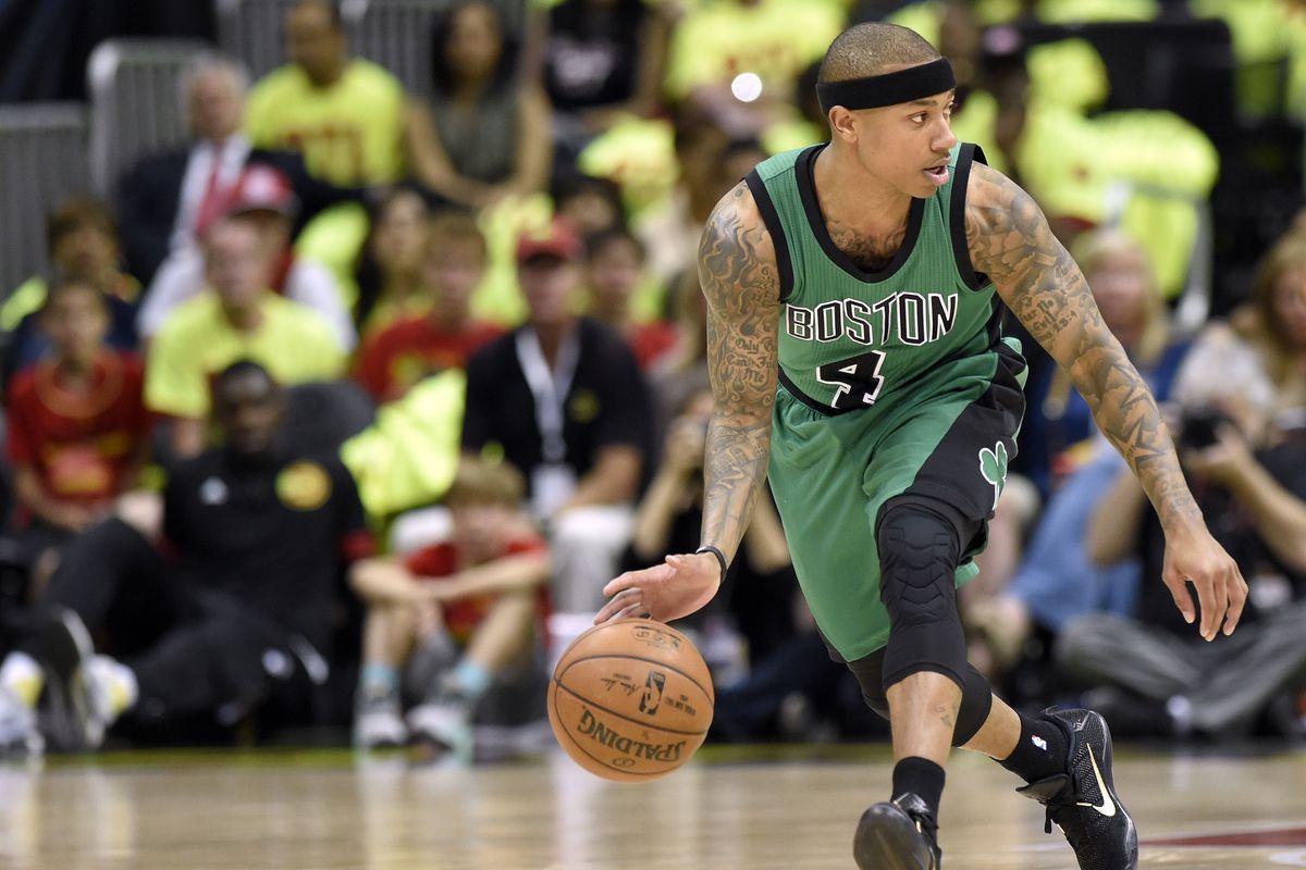 NBA: Playoffs-Boston Celtics at Atlanta Hawks