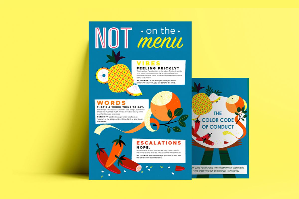 A poster from Not on the Menu