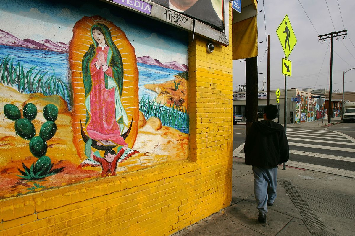 Southern California\'s Virgin of Guadalupe shrines - Curbed LA