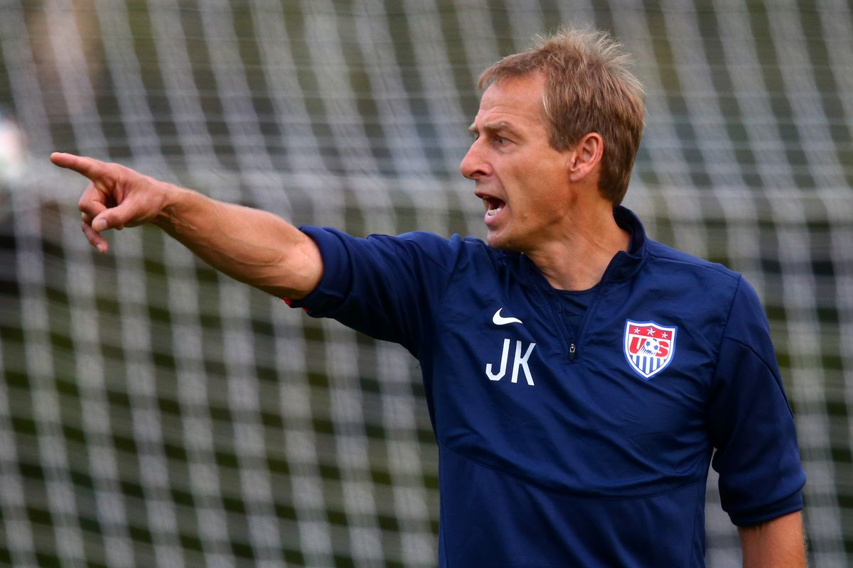 Klinsmann is taking a look at some of the players for the upcoming Gold Cup
