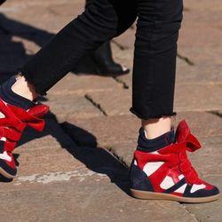 The original Isabel Marrant wedge sneaker
