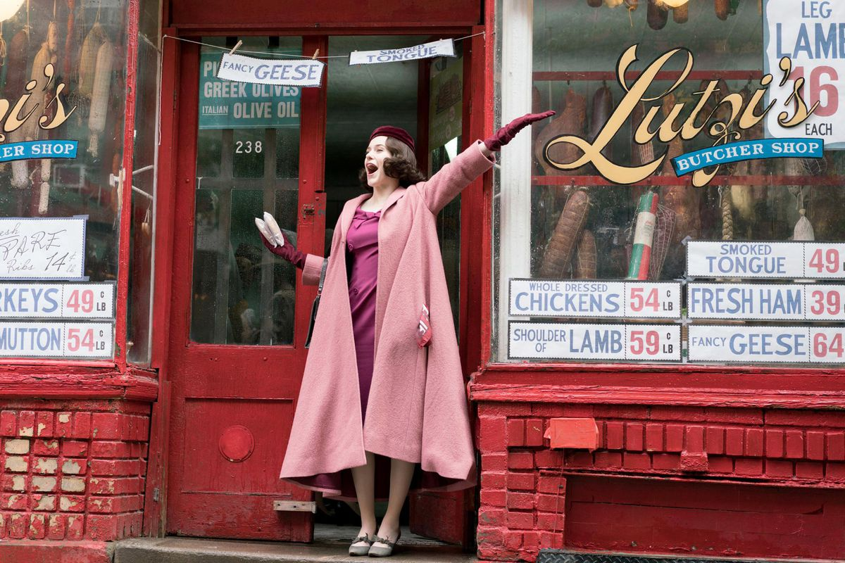 'The Marvelous Mrs. Maisel' wins big at the Golden Globes