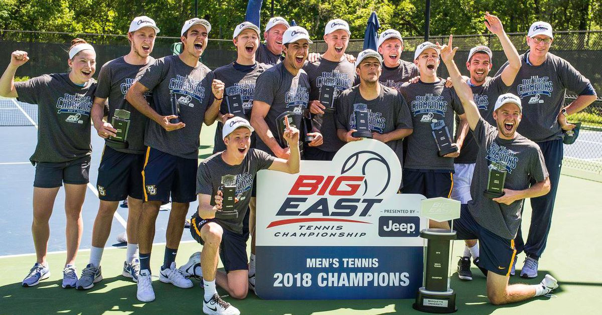 Marquette Men's Tennis Wins First Big East Title in ...