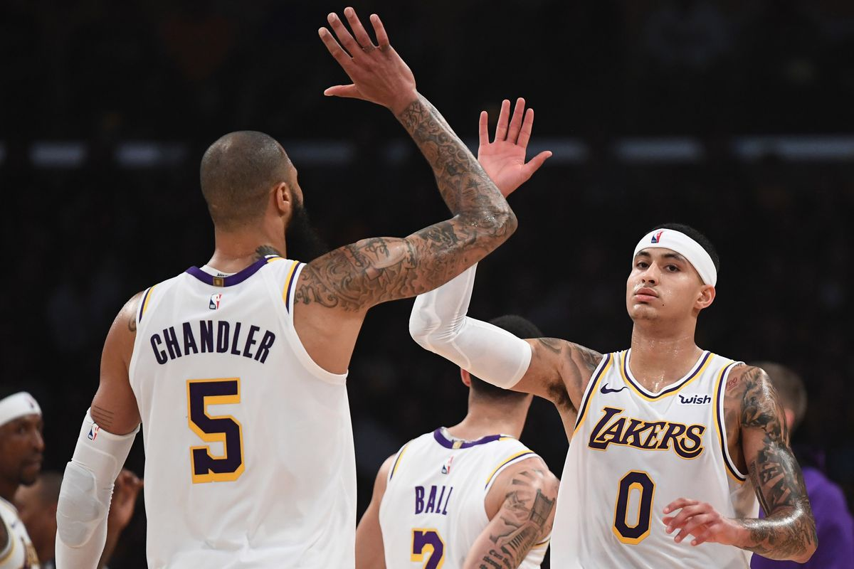 Kyle Kuzma, Tyson Chandler say young Lakers needed to go through trade rumors to grow