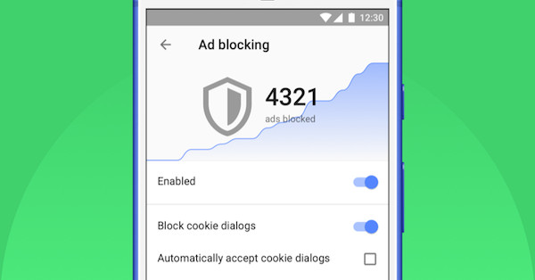 Opera will Block Those Annoying Cookie Dialog Boxes on its Android App