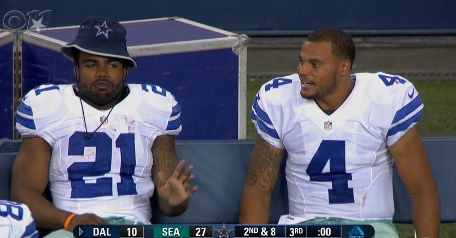 More important for the 2019 Dallas Cowboys: Dak Prescott or Ezekiel Elliott?