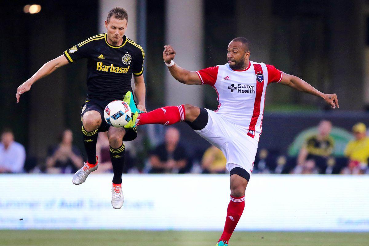 MLS: San Jose Earthquakes at Columbus Crew SC
