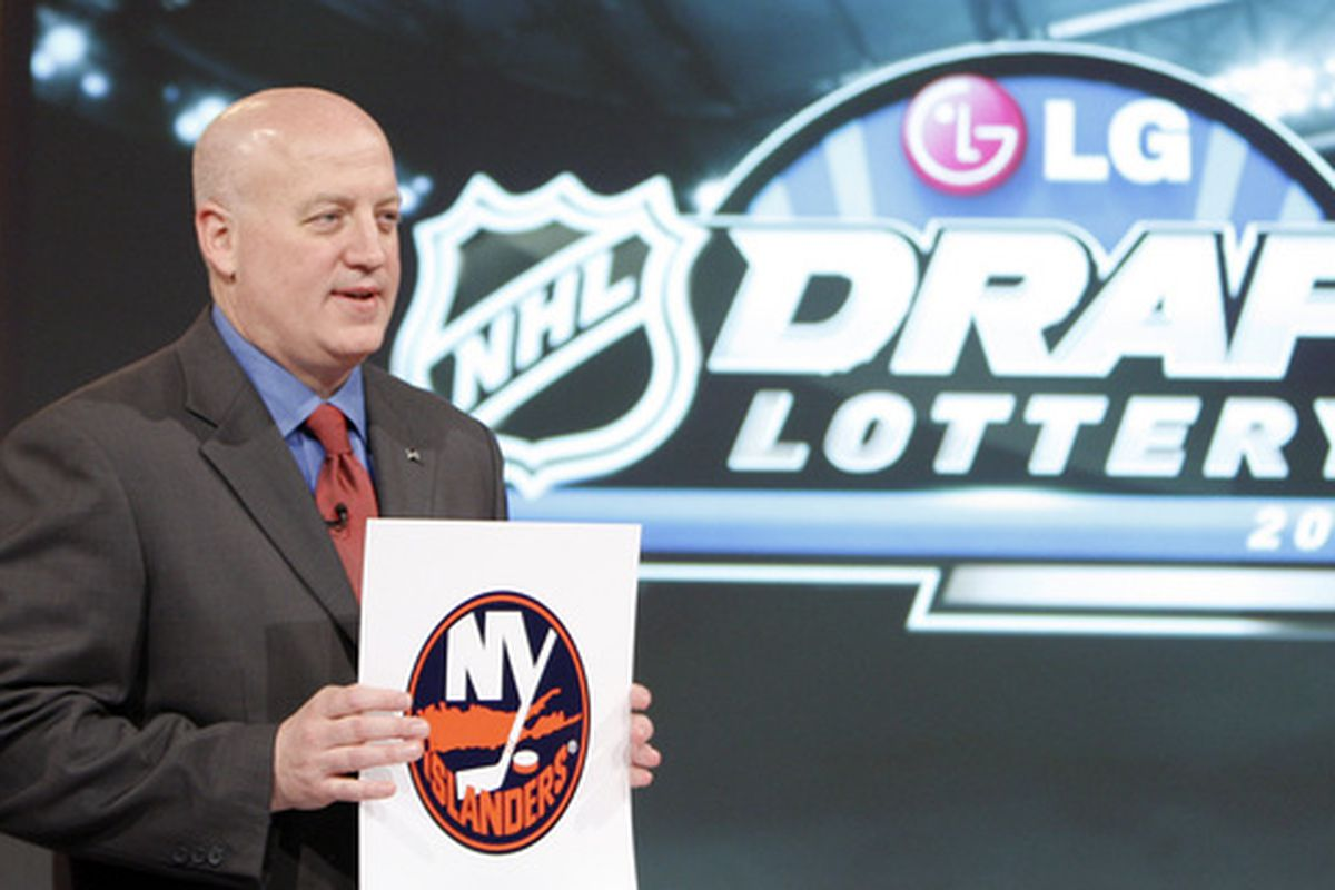 Even at 15, the Islanders have a valuable asset in their first round pick this year.