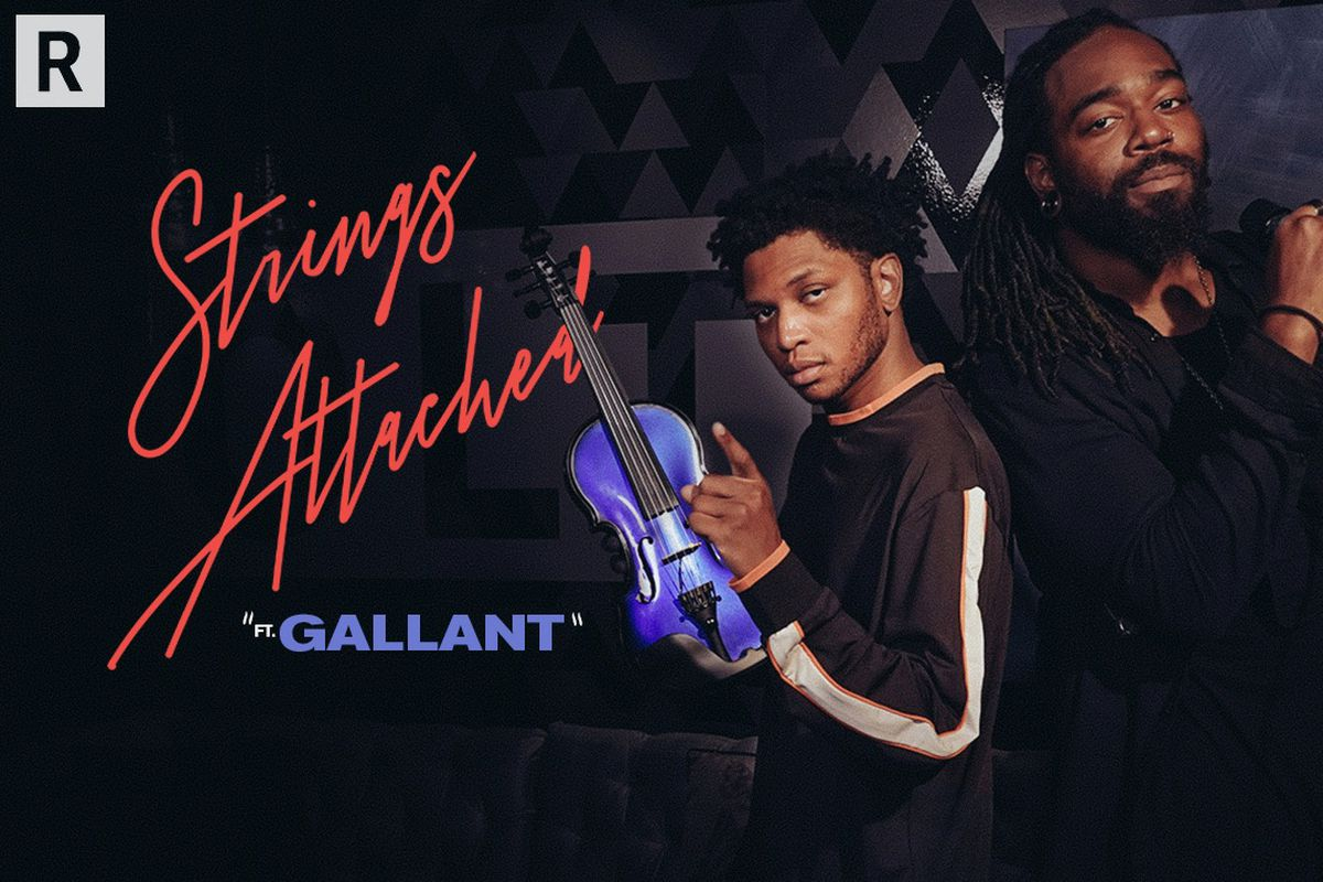 """Gallant on 'Strings Attached"""""""