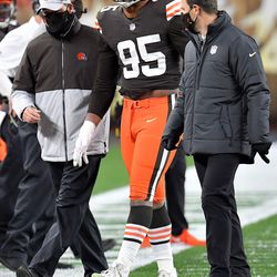 November 2020: The first big COVID news struck Cleveland, as DE Myles Garrett tested positive and would go on to miss the next two games.