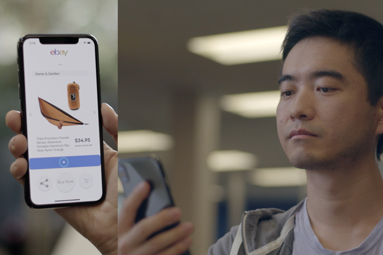 ebay s headgaze brings hands free input to the iphone x using arkit
