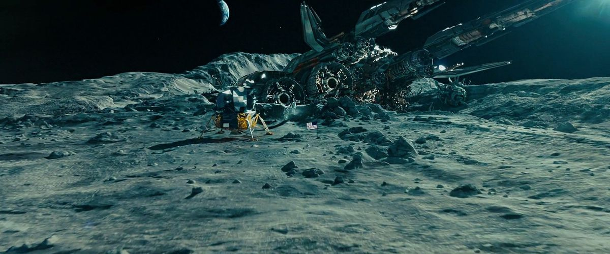 transformers: dark of the moon moon landing