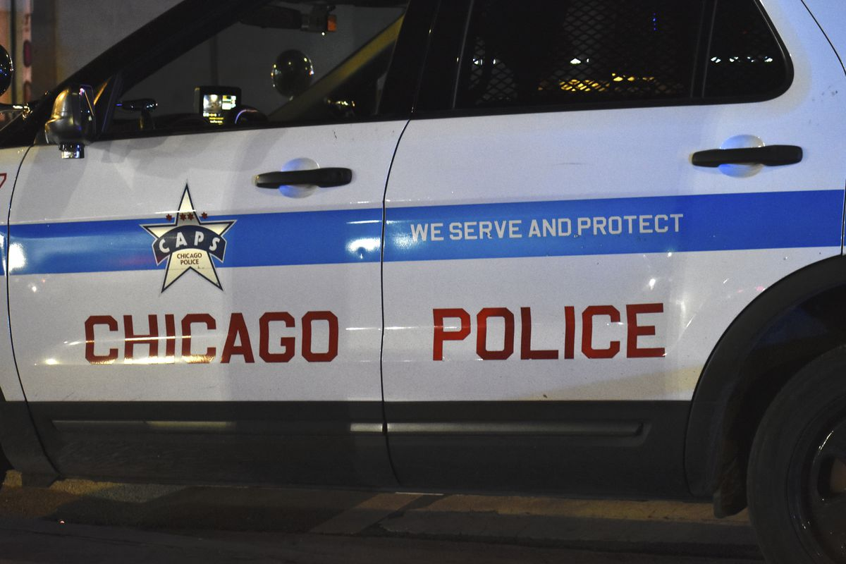 A Chicago Police Department SUV.