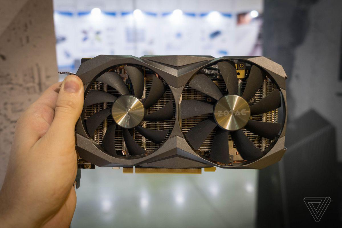 The world's tiniest Nvidia GTX 1080 Ti GPU is still kind of