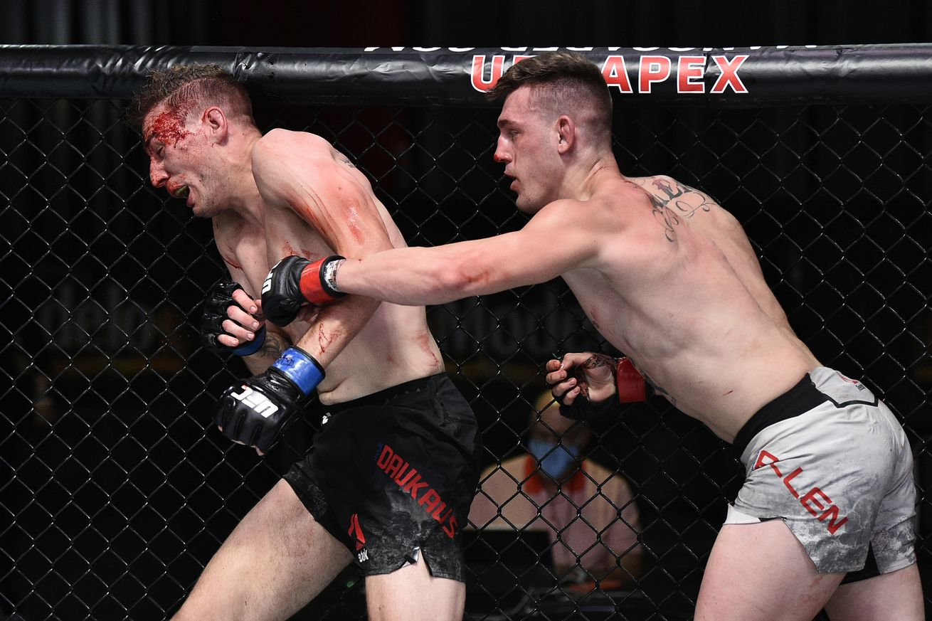 UFC Fight Night: Allen v Daukaus