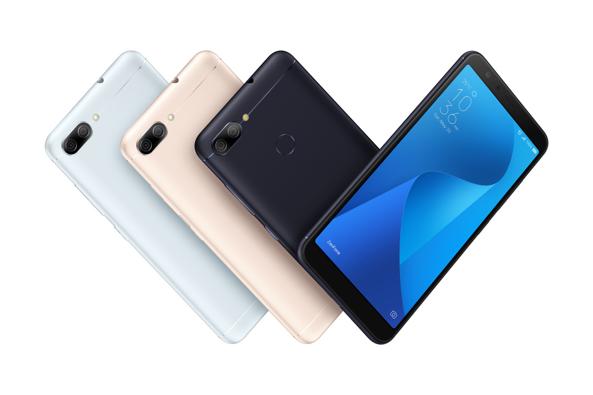 Asus' new ZenFone Max Plus smartphones feature Face Unlock