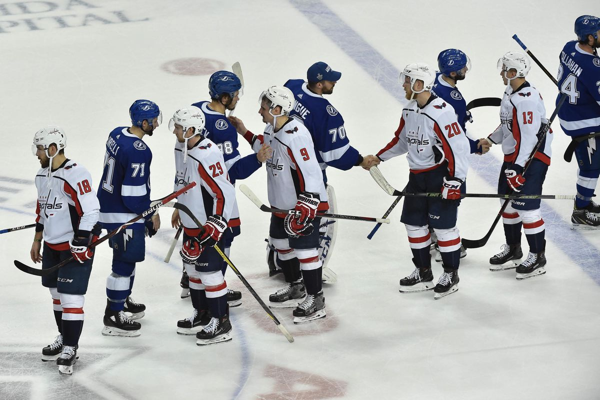 c47eb439a8b Tampa Bay Lightning go out with a whimper as Washington Capitals eliminate  them 4-0 in Game 7