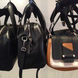 Sample handbags, starting at $100