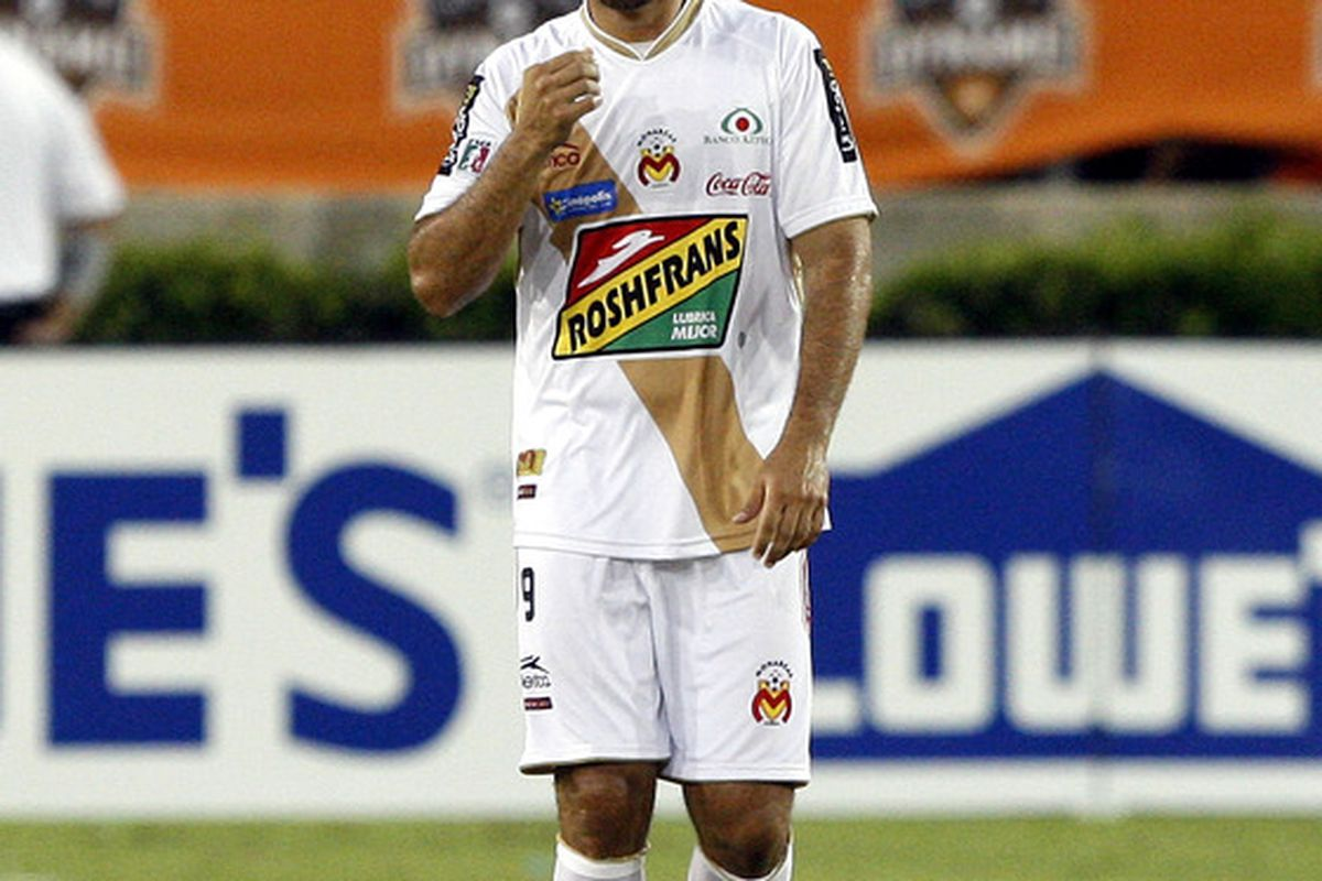 Morelia will make things tough on the Galaxy  (Photo by Bob Levey/Getty Images)